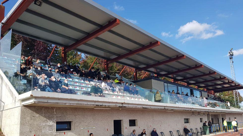 Imagen de la inauguración del tramo A Barrela-San Martiño de la autovía Lugo-Ourense