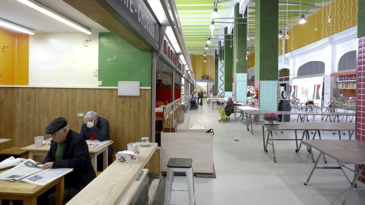 En el Mercado municipal se instalarán una cervecería artesana y una cafetería