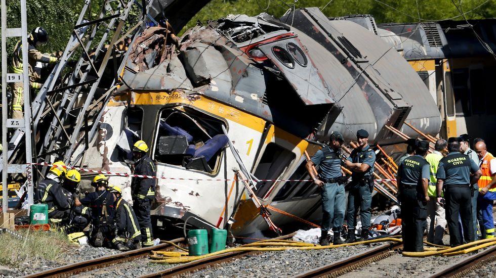 Trenes de pruebas del AVE en Ourense.Accidente ferroviario en O Porriño del tren Vigo-Oporto