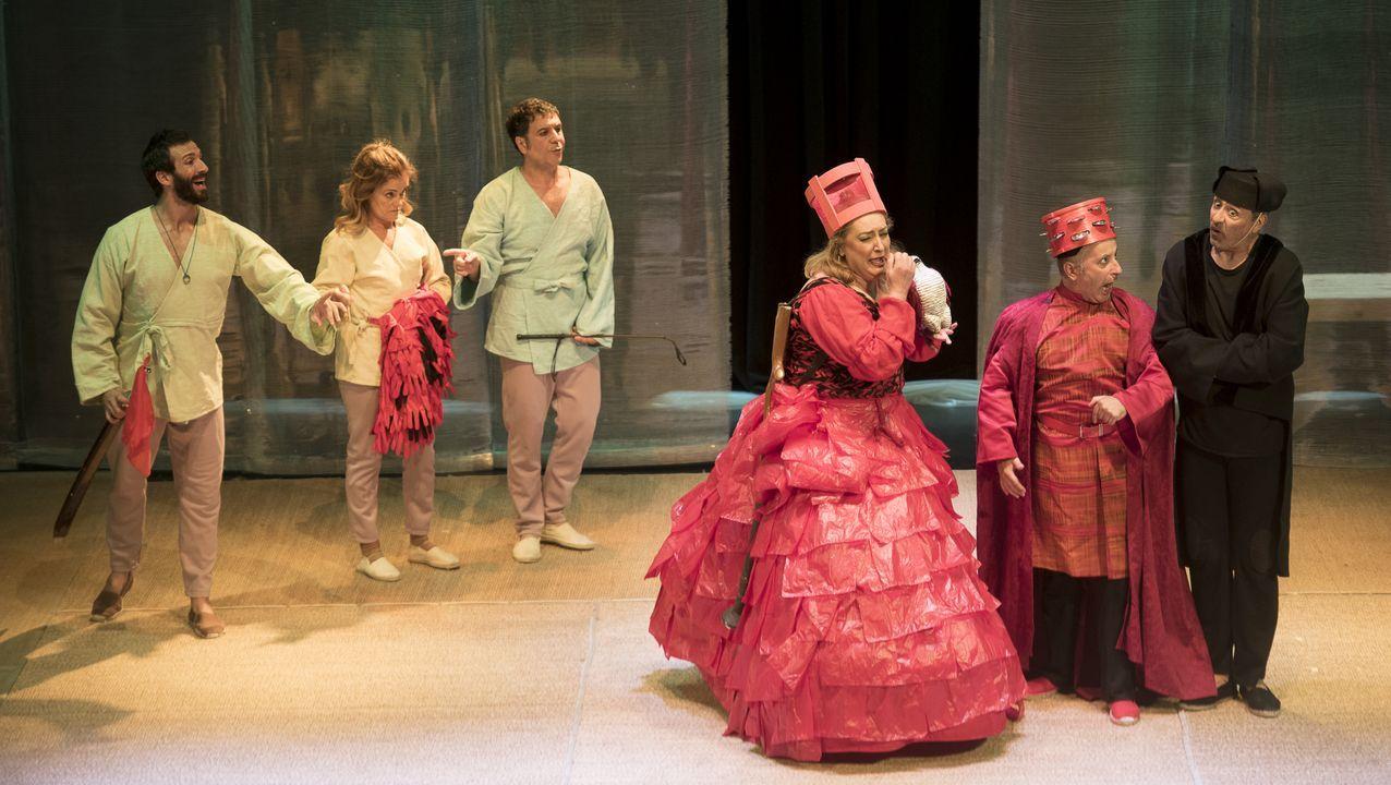 O 12 de marzo, Producións Teatrais Excéntricas, representará «Medida por medida», de Shakespeare