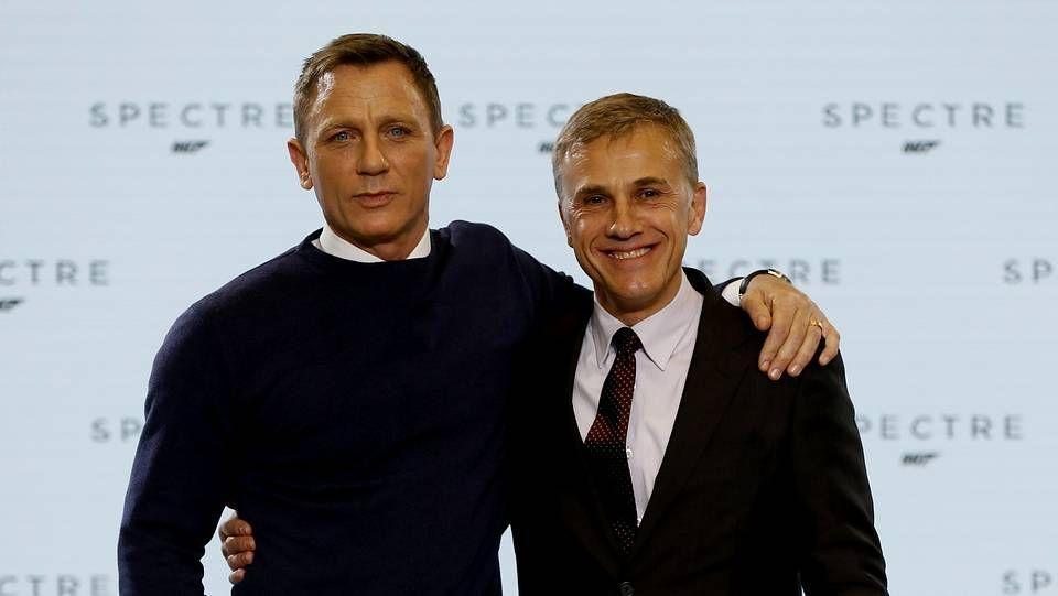 Daniel Craig y Christoph Waltz, protagonistas de la película