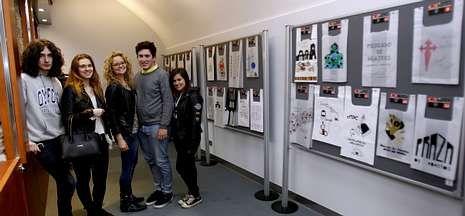 Cumbre de presidentes en Monte Pío.Los alumnos de Mestre Mateo exponen sus diseños en la Plaza de Abastos hasta el 15 de junio.