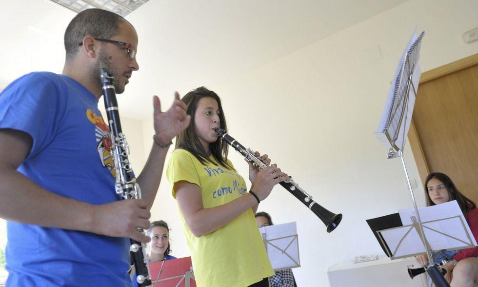 As actividades musicais na parroquia lalinense tiveron o pasado ano a súa primera edición.