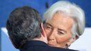 Mario Draghi cede el testigo a su sucesora, Christine Lagarde
