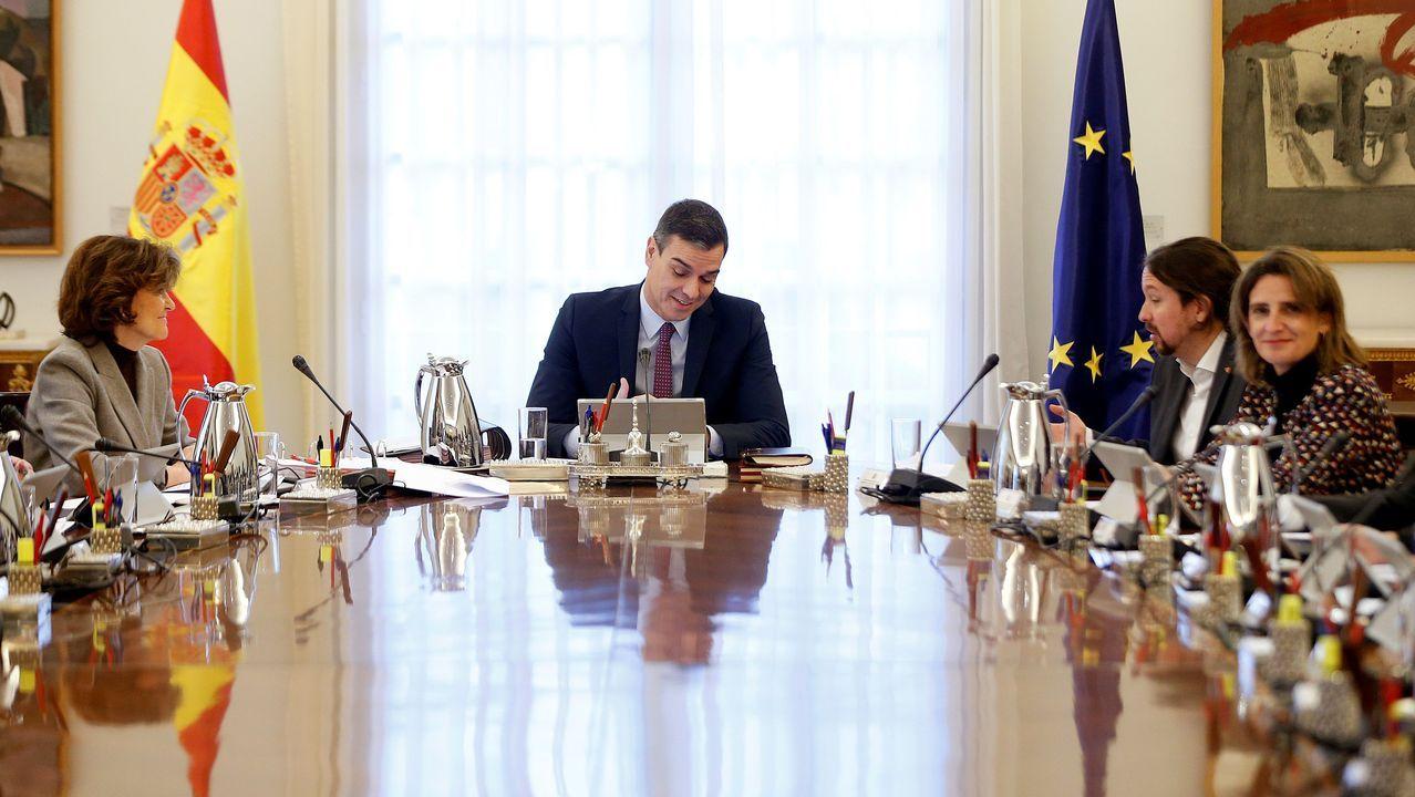 Primera reunión del Consejo de Ministros