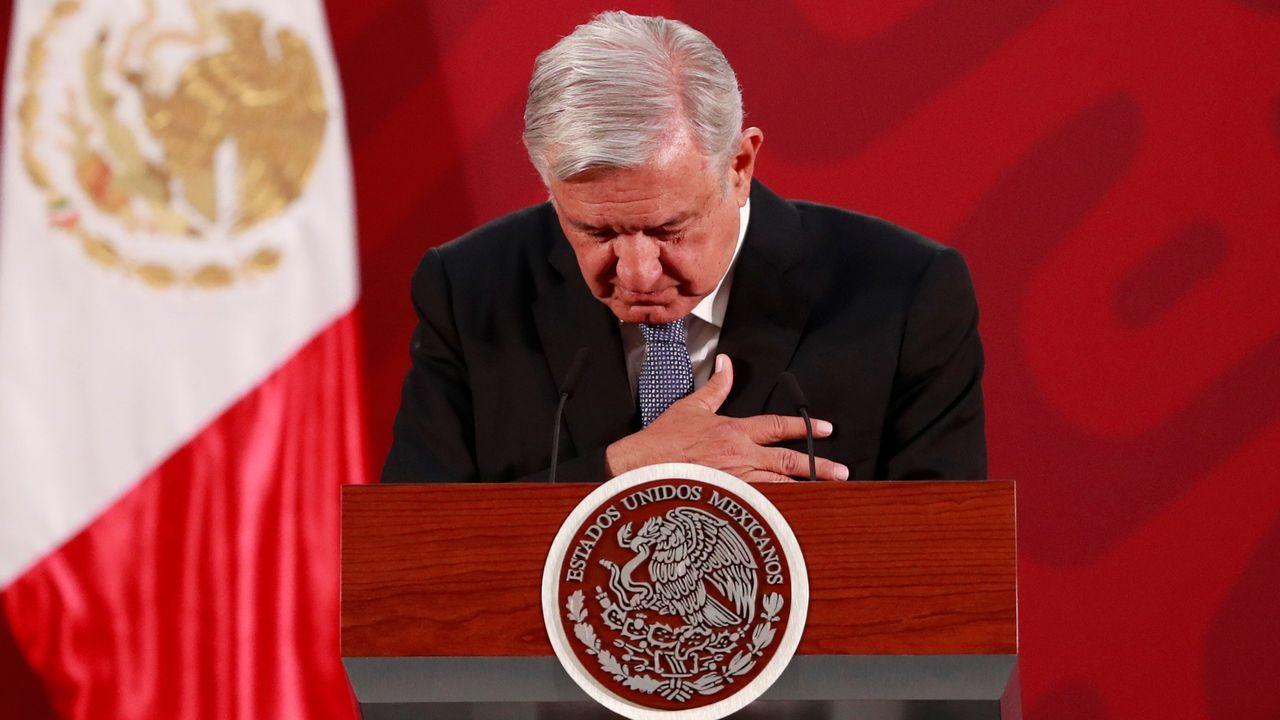 López Obrador, en su habitual rueda de prensa de los lunes