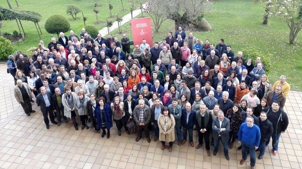 Wenceslao López.Visitantes en la Semana Negra de Gijón