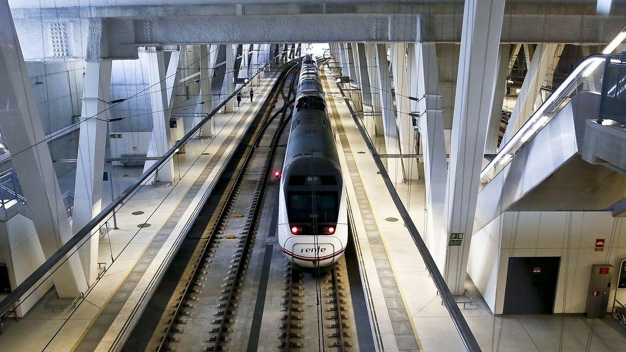 El plan inicial para la conexión de Vigo con Portugal consistía en convertir la estación de Urzaiz en pasante