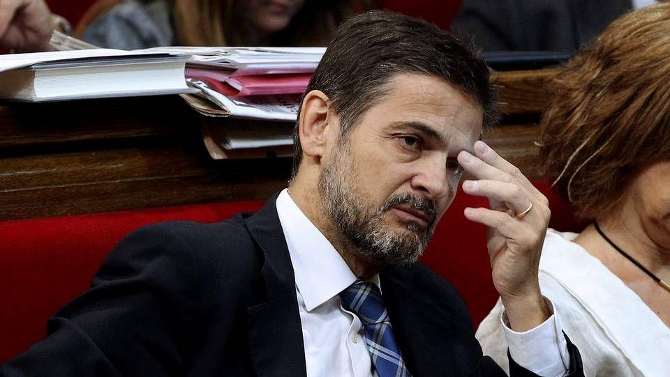 <span lang= es-es >Nuevo coordinador de CiU</span>. Artur Mas presentó ayer a Josep Rull, que sustituye a Oriol Puyol imputado en el caso ITV.