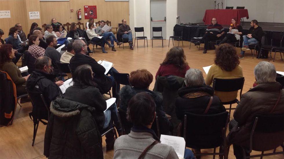 Un momento de la reunión informativa sobre Renta Municipal de XsP