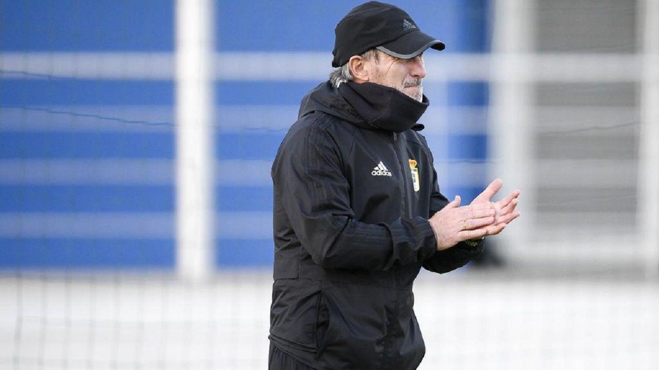 Las mejores imágenes del Deportivo - Almería.Juan Antonio Anquela en El Requexón