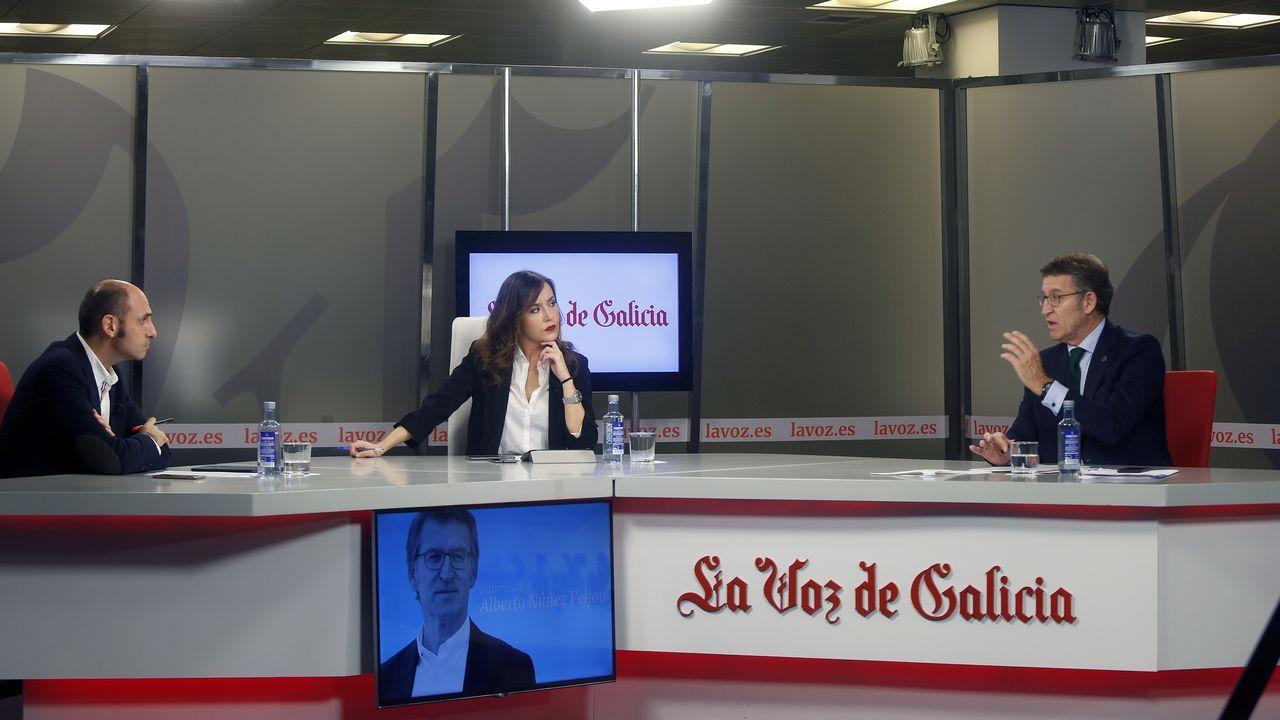 Feijoo responde a las preguntas de los lectores de La Voz