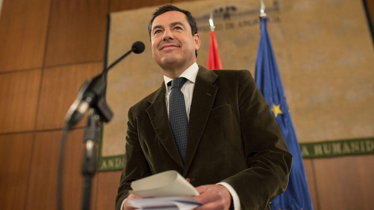 El popular Juan Manuel Moreno, presidente de la Junta de Andalucía, en una imagen de archivo