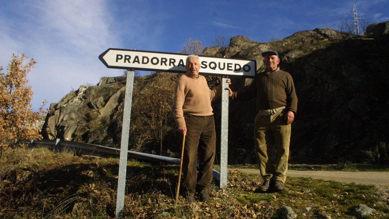 Dos de los vecinos que en el 2005 pedían que Pradorramisquero fuera de Zamora