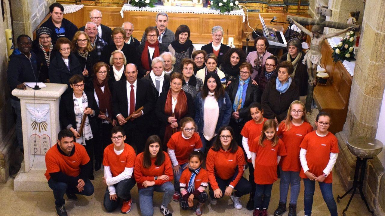 Velada de solidaridad por las riadas de Xunqueira.A cantante galega de pai neoiorquino Marem Ladson