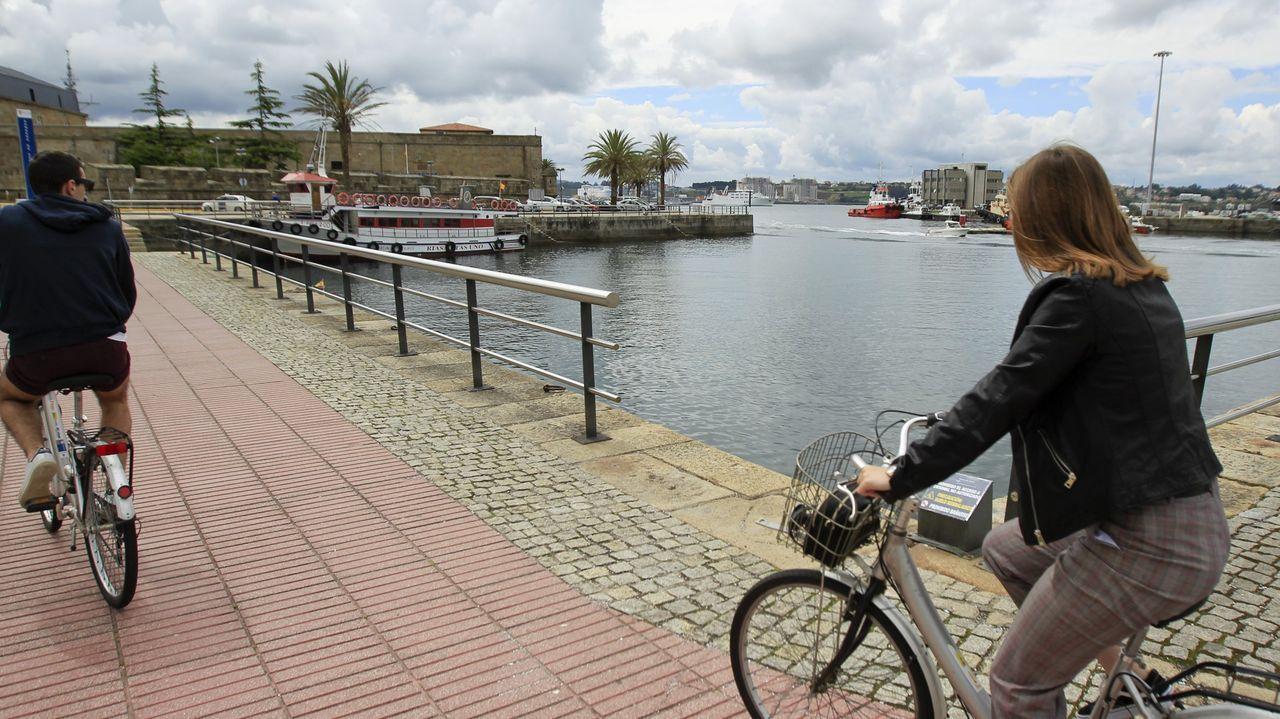 arrastrero .Pez espada incautado en el Puerto de A Coruña