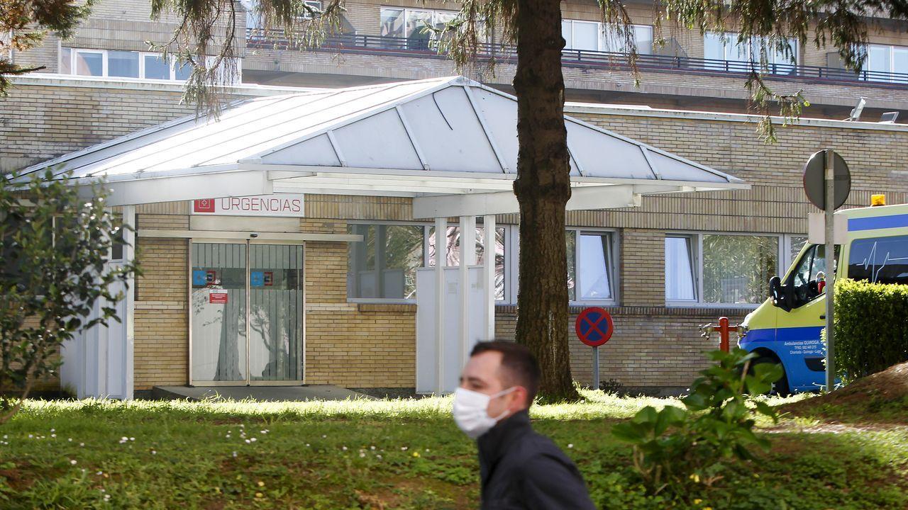 Hospital Juan Cardona, en Ferrol