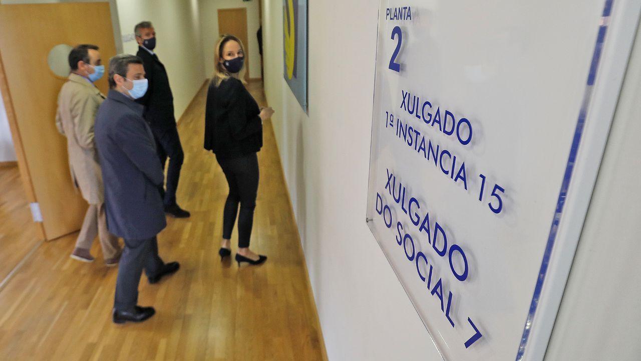 El miércoles 31 arrancan en Galicia tres nuevos juzgados de lo Social: A Coruña, Vigo y Lugo.El ministro de Justicia argentino en la apertura de sesiones del Congreso de la Nación.