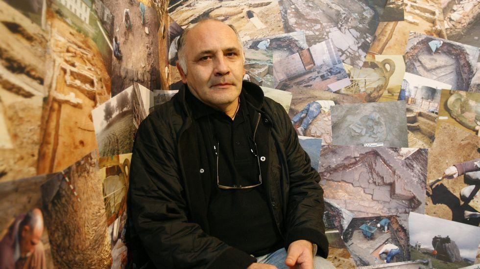 «Hombres pájaro» ponen nidos a los vencejos en la Muralla de Lugo