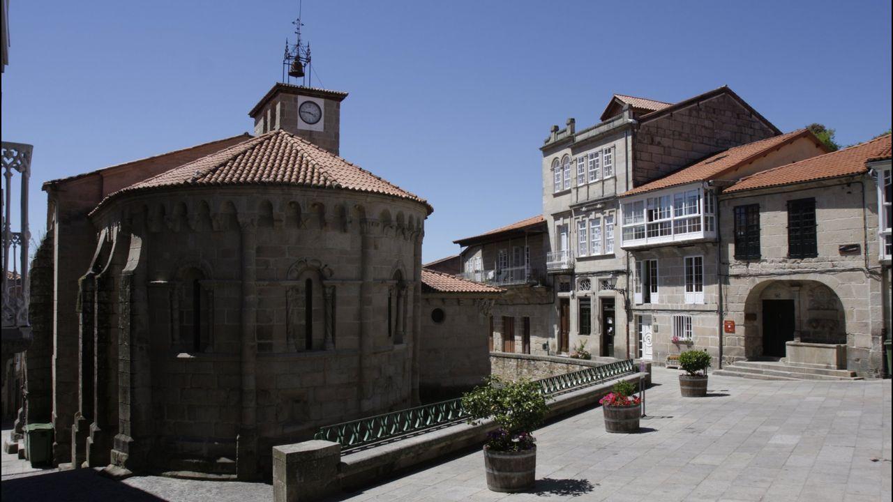 Imagen del casco histórico de Allariz