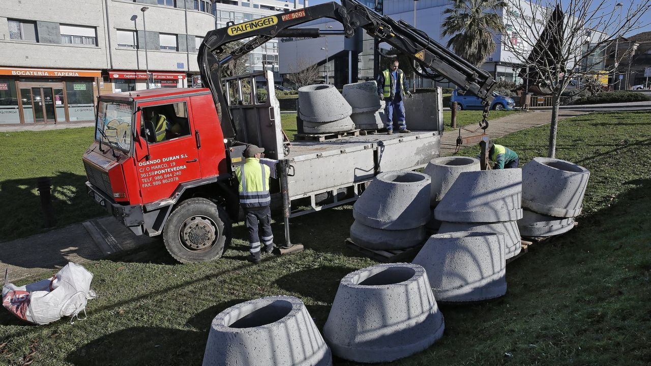 Inicio de las obras del nuevo colector general del río Gafos en diciembre del 2017