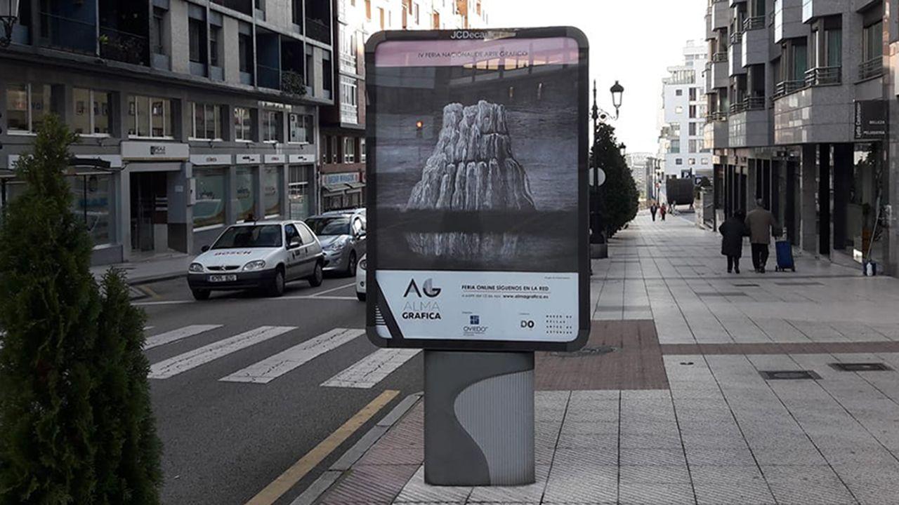 Cartel de ALMA GRÁFICA en Oviedo
