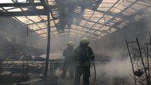 Las imágenes del incendio