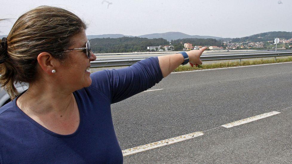 Redada en el Vao de Arriba.Guardar la distancia. El Rexistro Xeral del Concello de Pontevedra luce una barrera para evitar la proximidad entre usuarios y funcionarios.