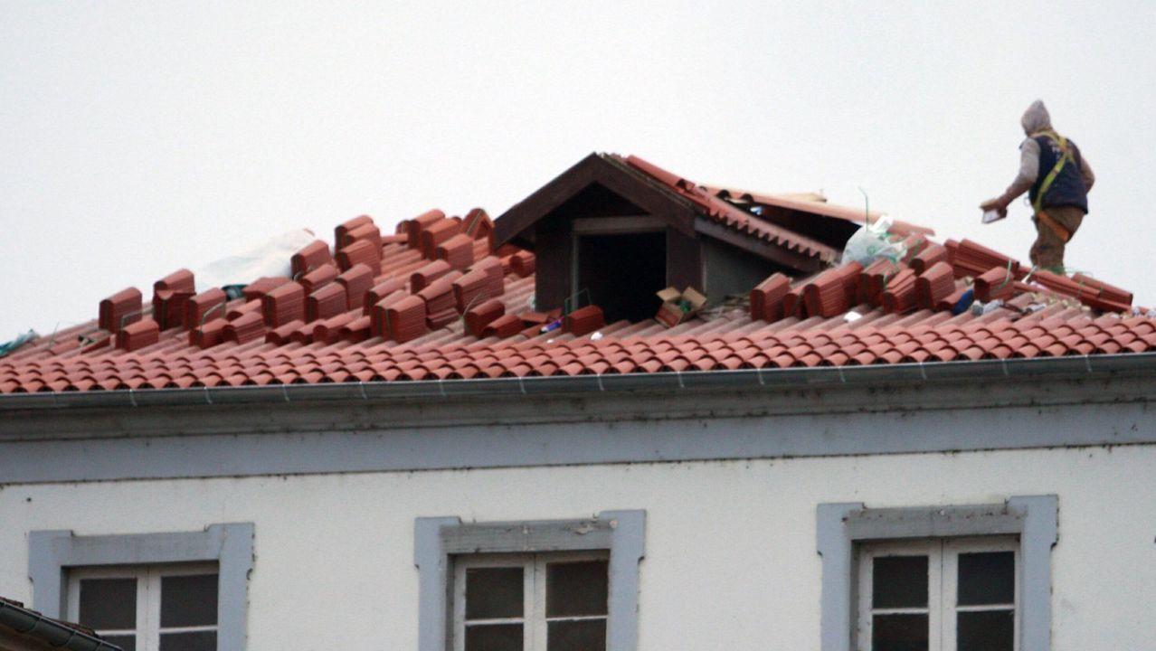 Rehabilitación de una vivienda en el casco antiguo de Monforte