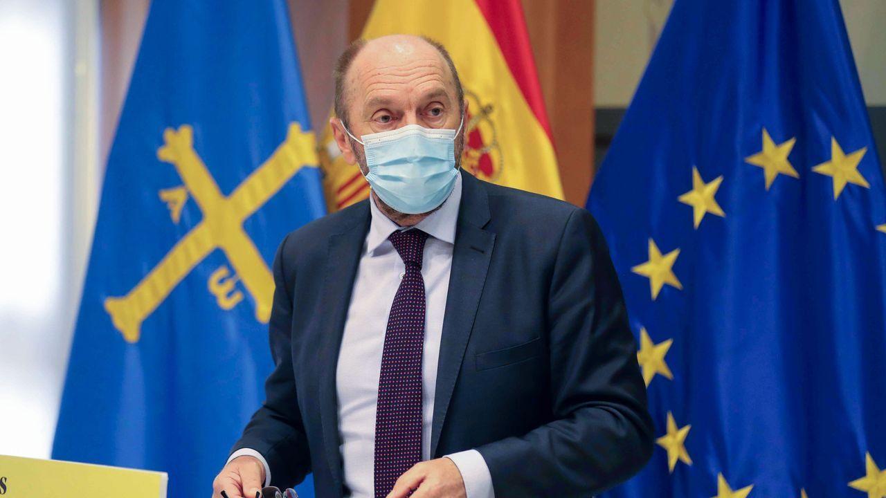 El consejero de Administración Autonómica y vicepresidente del Gobierno, Juan Cofiño