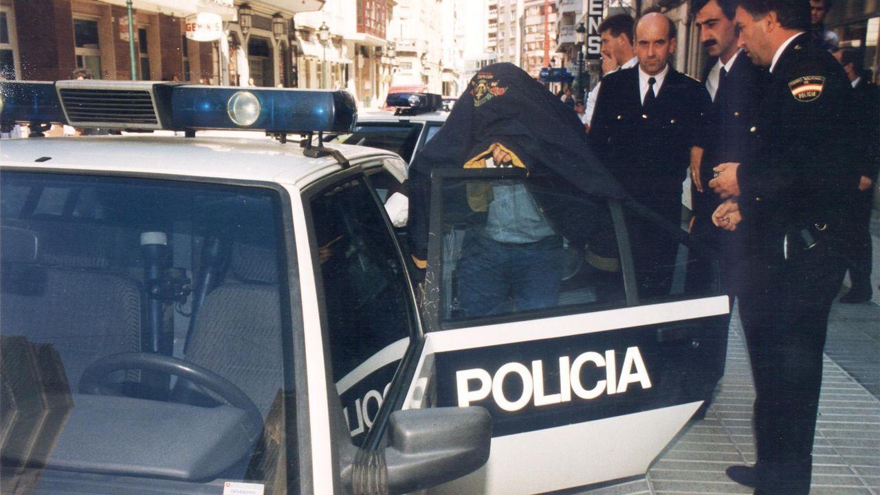Traslado de narcotraficantes procesados en la operación Nécora de Vilagarcía a Madrid
