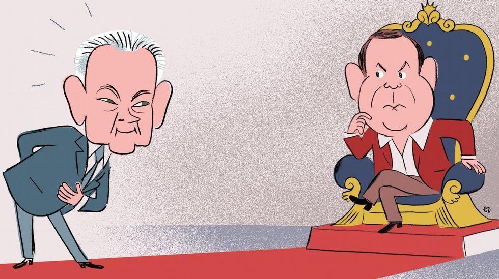 Feijoo y Méndez Romeu se suben al ring.CEDIDA