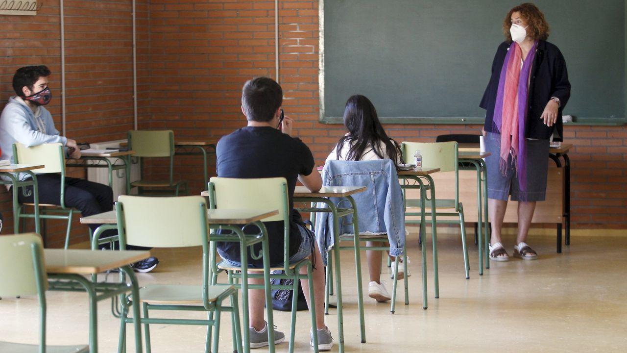 El instituto Miguel Ángel González de Carril, en mayo