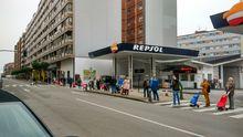 Avenida Portugal. Gijón