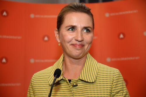 La primera ministra danesa, Mette Frederiksen