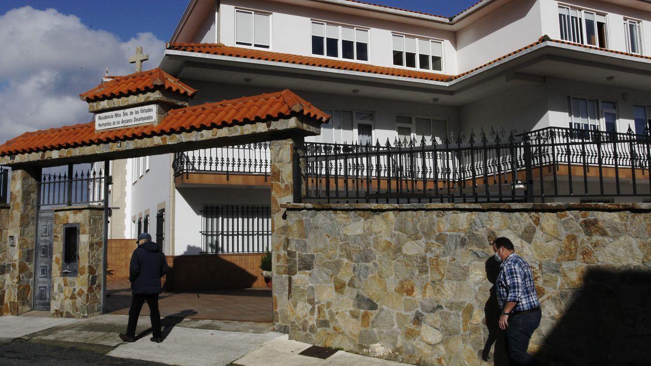 Residencia Nuestra Señora de las Virtudes, de Pontedeume, regentada por la congregación de las Hermanitas de los Ancianos Desamparados