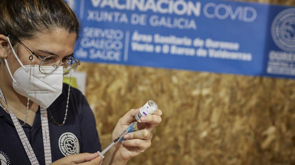 El domingo comienza la vacunación de treintañeros en Ourense.