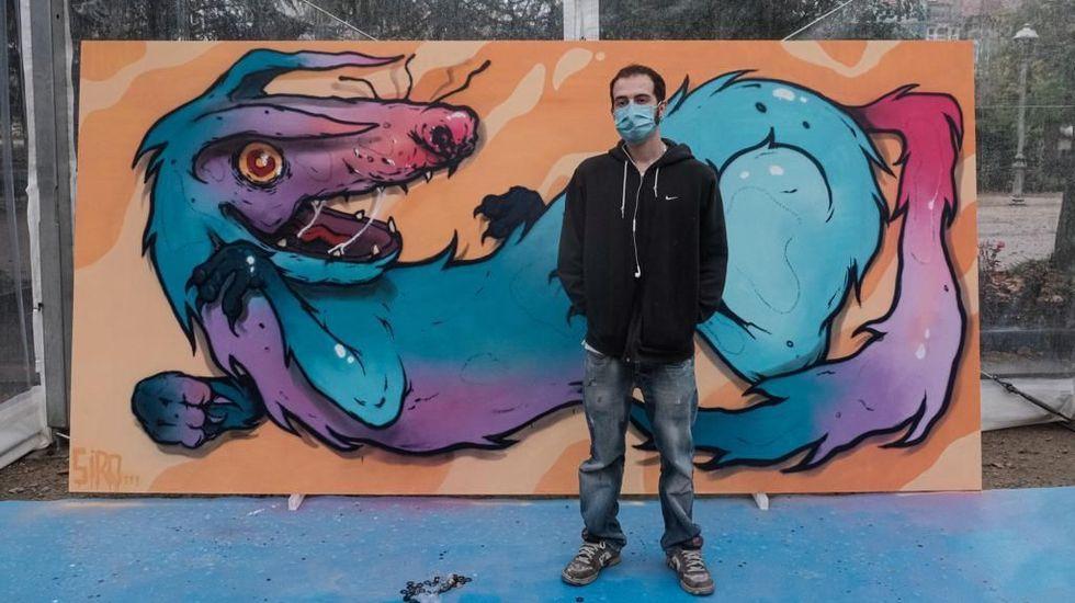 Así fue la final del Xuventude Crea en la modalidad de grafiti celebrada en Santiago