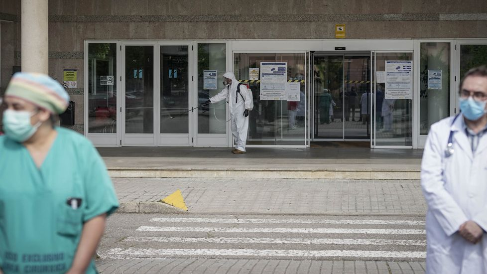 En el hospital de Verín hay una única persona ingresada por coronavirus