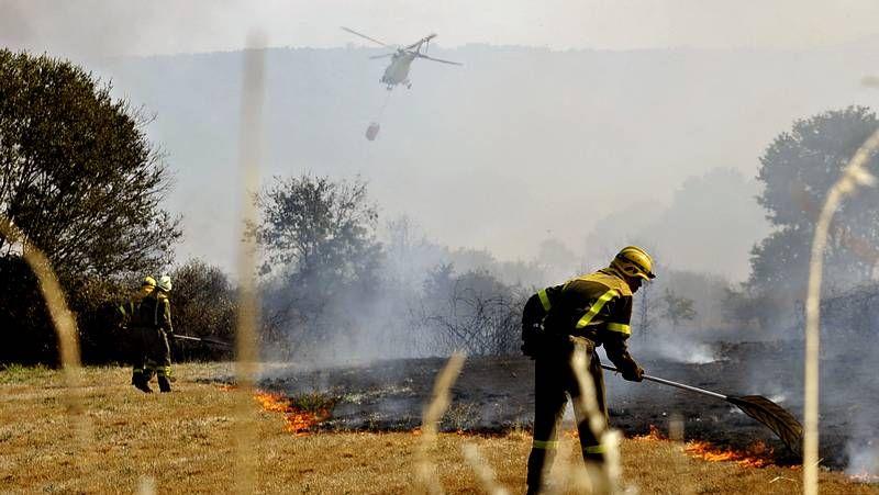 Los incendios no dan tregua en Galicia