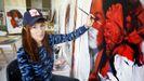 Lula Goce, una artista mural