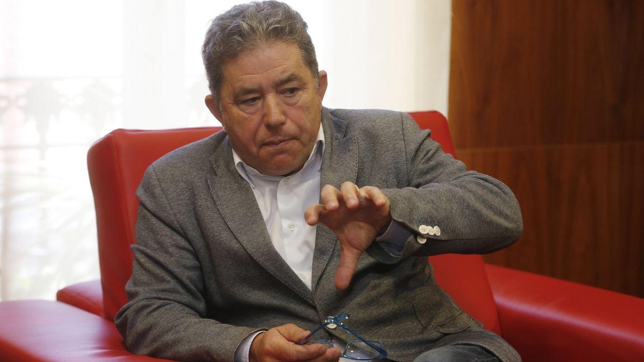 Alejandro Giammattei, uno de los candidatos en las presidenciales de este domingo en Guatemala
