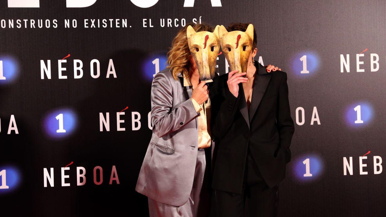 Enma Suárez e Isabel Naveira, protagonistas de la serie