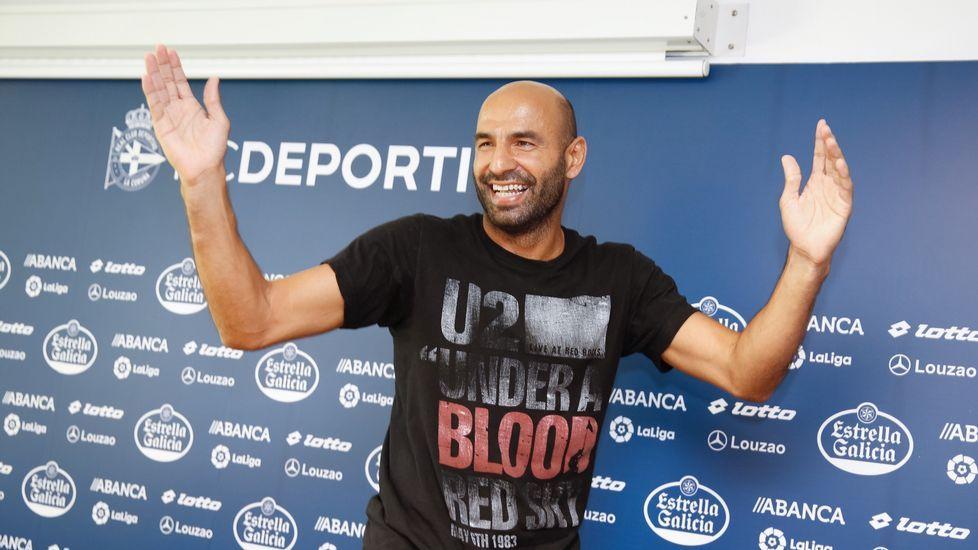 «Ha sido un privilegio haber estado en este vestuario».Último partido en Primera entre Dépor y Alavés, en mayo del 2006