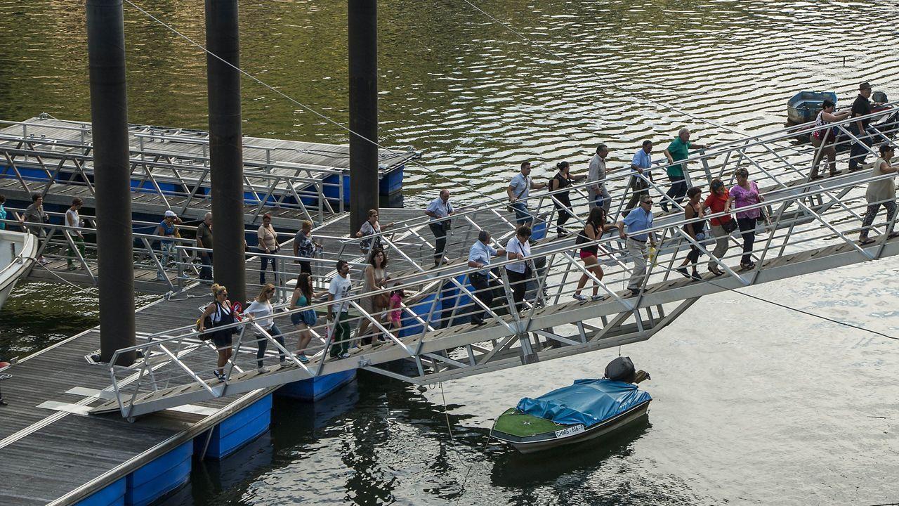 Tragsa introducirá mejoras en el sistema de embarque de viajeros