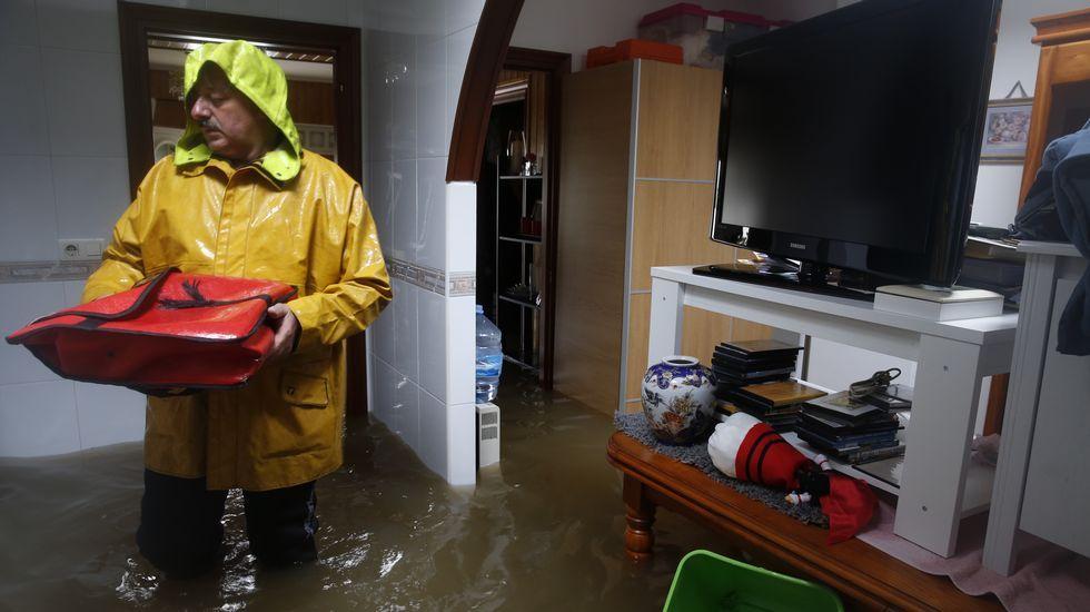 Inundación en Sada