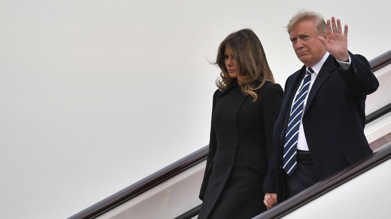 En imágenes: así está siendo el viaje de Donald Trump en Extremo Oriente.Donald Trump