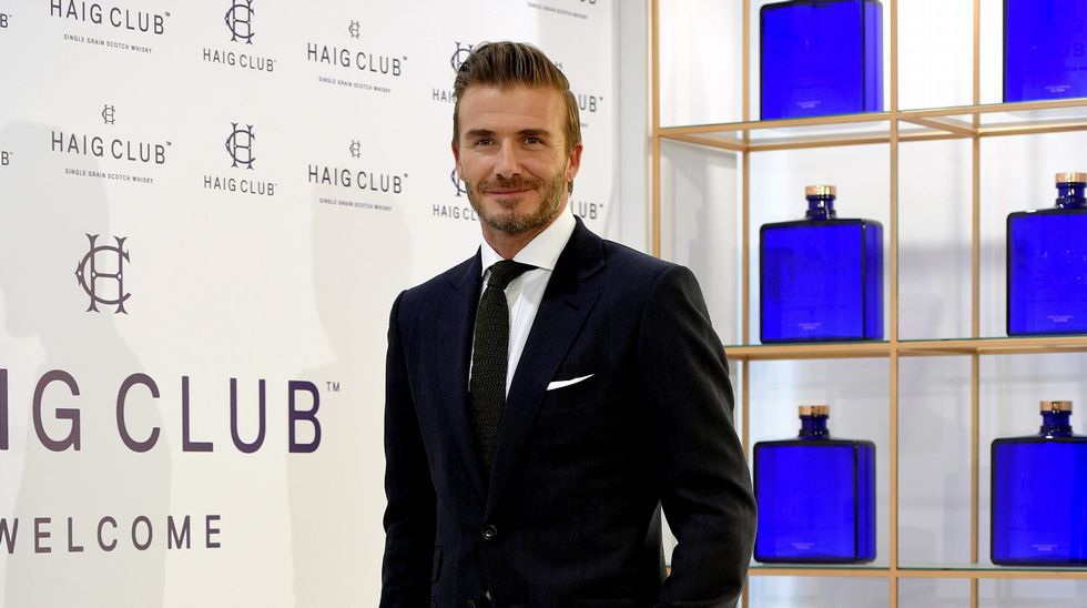 David Beckham, el hombre más sexy