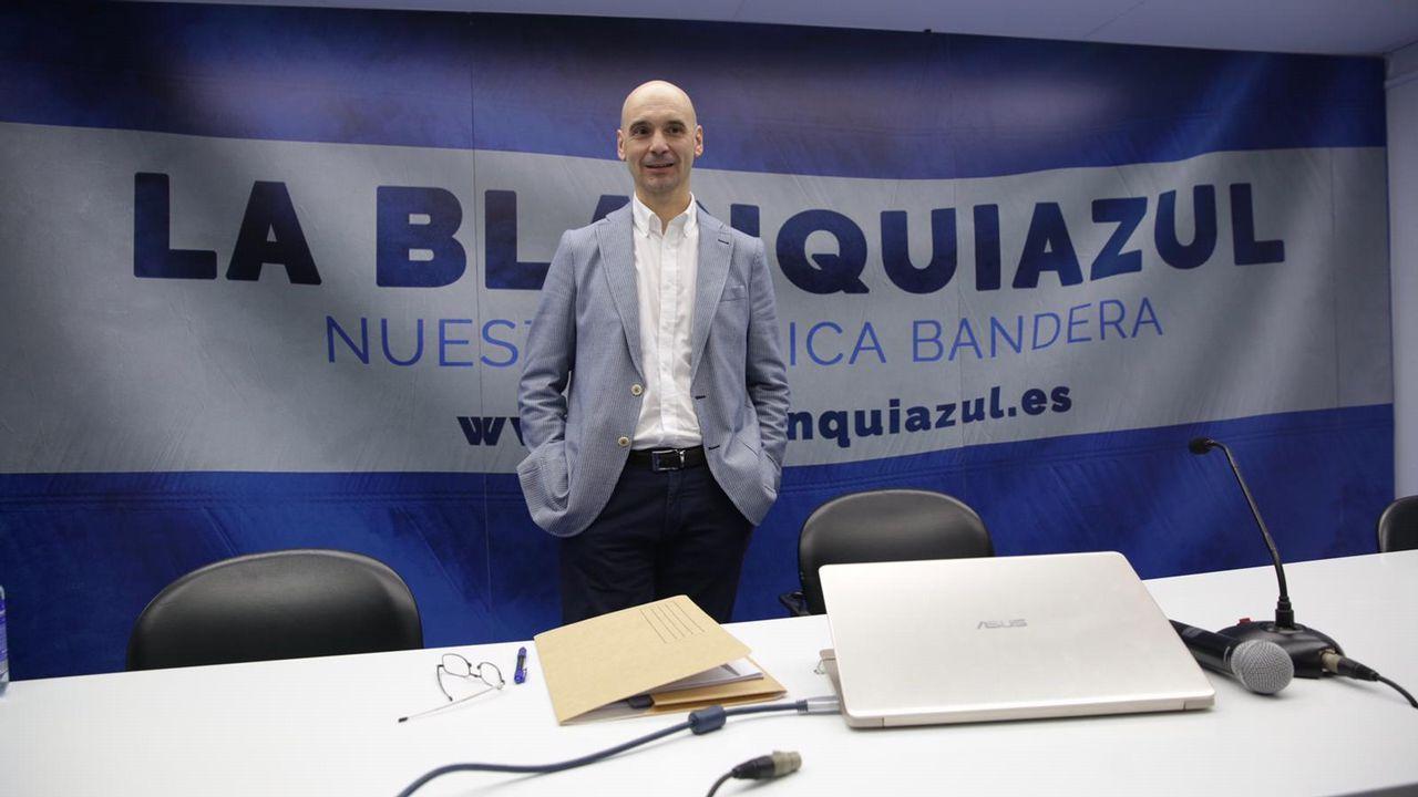 Jesús Martínez Loira presenta su candidatura a la presidencia del Deportivo