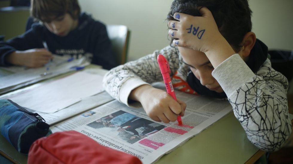 Las noticias deben llegar al examen porque, como un alumno explicó muy bien, son televisión en directo, y los libros las dan en diferido